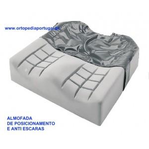 Almofada anti escaras