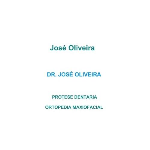 DR. JOSÉ OLIVEIRA