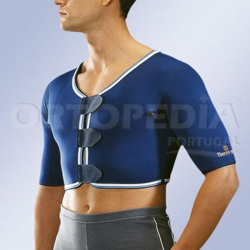 Suporte de ombro bilateral em neopreno