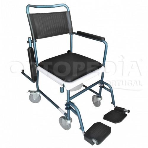 Cadeira sanitária com rodas