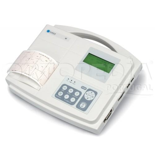 Electrocardiógrafo 1/3 canais
