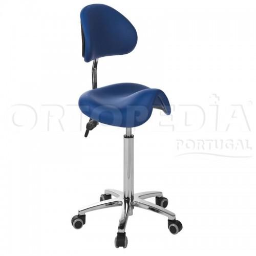 Cadeira anatómica com costas