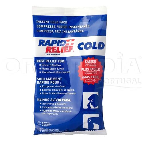 Compressa de frio instantâneo