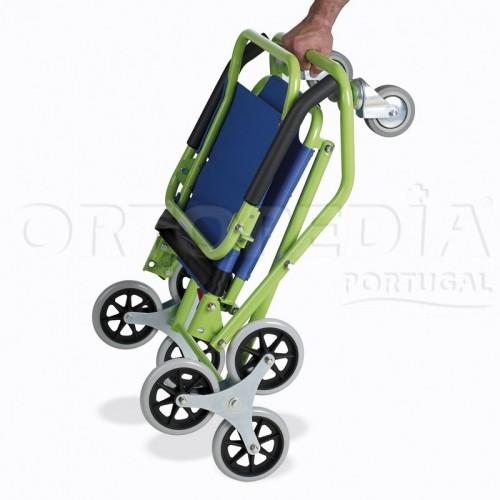 Cadeira de rodas para trepar degraus