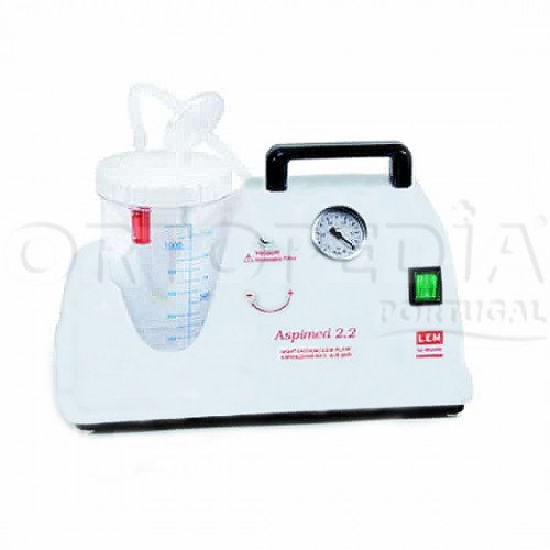 Aspirador portátil de fluídos do corpo