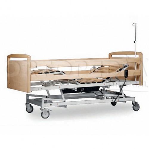 Cama hospitalar eléctrica altura variável