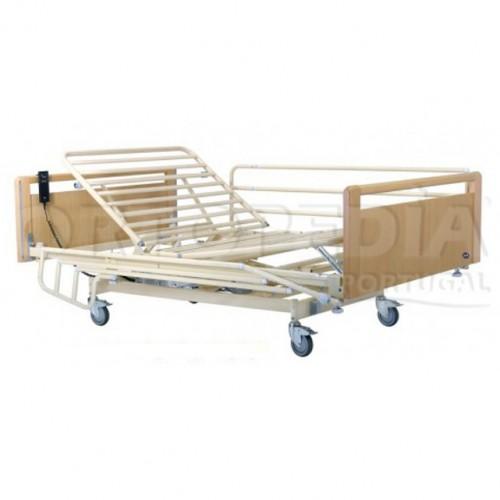 Cama hospitalar eléctrica variável em altura