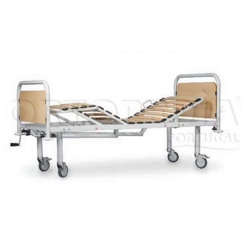 Cama hospitalar articulada manual