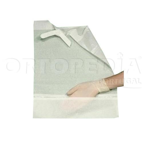 Babetes descartáveis com bolsa