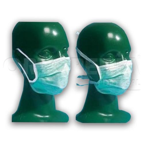 Máscaras de protecção descartáveis