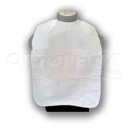 Babetes adulto com bolsa