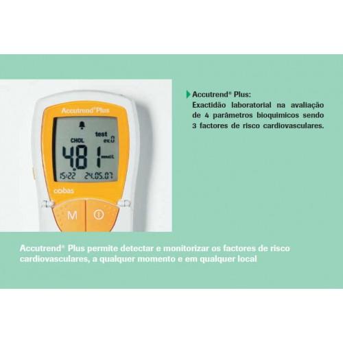 Medidor de colesterol e glicémia