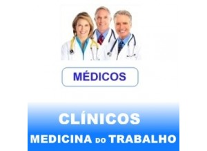 ESPECIALISTAS MEDICINA DO TRABALHO